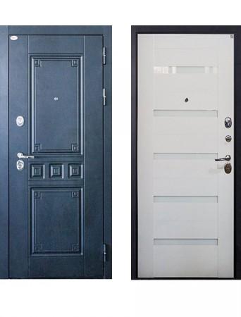 Дверь Выбор 12 Максимум СБ Белый ясень